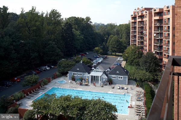 Community pool - 2230 GEORGE C MARSHALL DR #1011, FALLS CHURCH