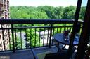 View from Balcony - 2230 GEORGE C MARSHALL DR #1011, FALLS CHURCH