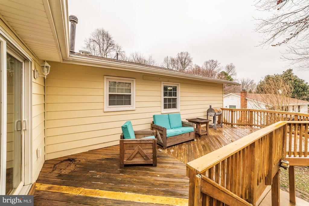 Deck - 6221 LAVELL CT, SPRINGFIELD