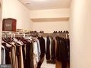 Closet Mstr Bdrm - 40278-. WARREN GLEN LN, LEESBURG