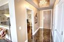 Marble Entrance Foyer - 11990 MARKET ST #1811, RESTON