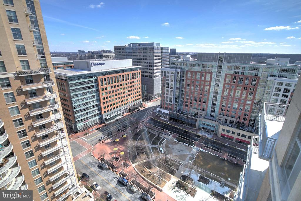 View From The Living Room - 11990 MARKET ST #1811, RESTON
