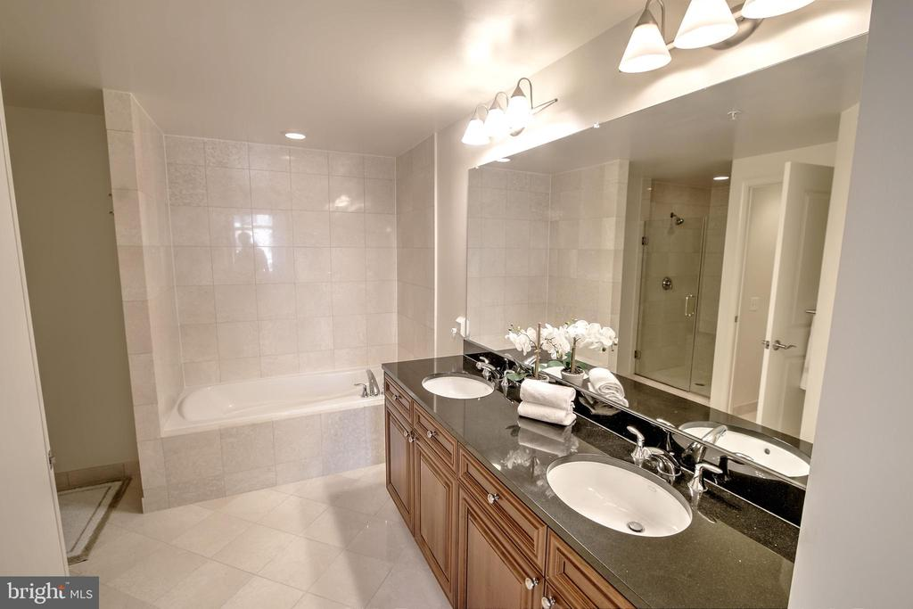 Master Bath With 2 Sinks - 11990 MARKET ST #1811, RESTON