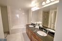 Master Bath With 2 Sinks - 11990 MARKET ST #1811, RESTON