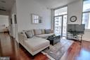 Family Room Opens To Balcony - 11990 MARKET ST #1811, RESTON