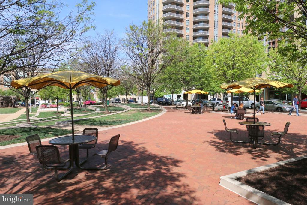 Park Directly Across The Street - 11990 MARKET ST #1811, RESTON