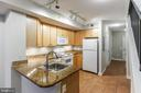 Gourmet Kitchen with Breakfast Bar - 616 E ST NW #655, WASHINGTON