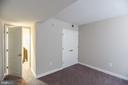 2nd Bedroom Features Large Closet and Gray Carpet - 616 E ST NW #655, WASHINGTON