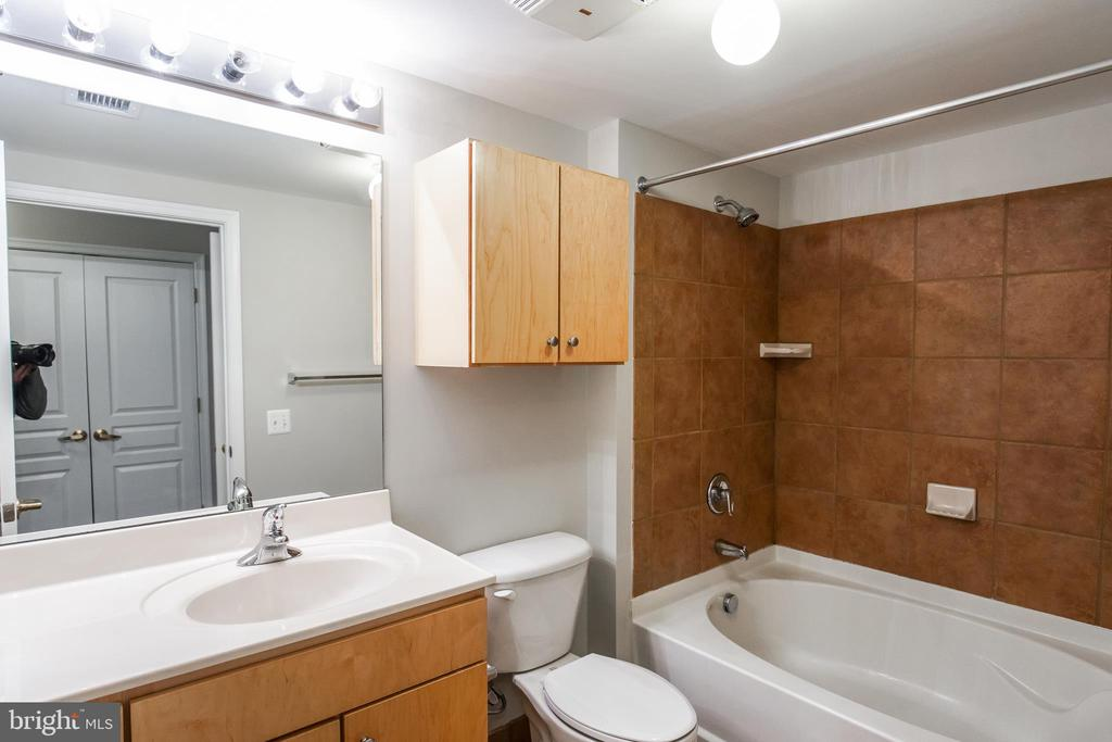 En-Suite Master Bathroom with Soaking Tub - 616 E ST NW #655, WASHINGTON