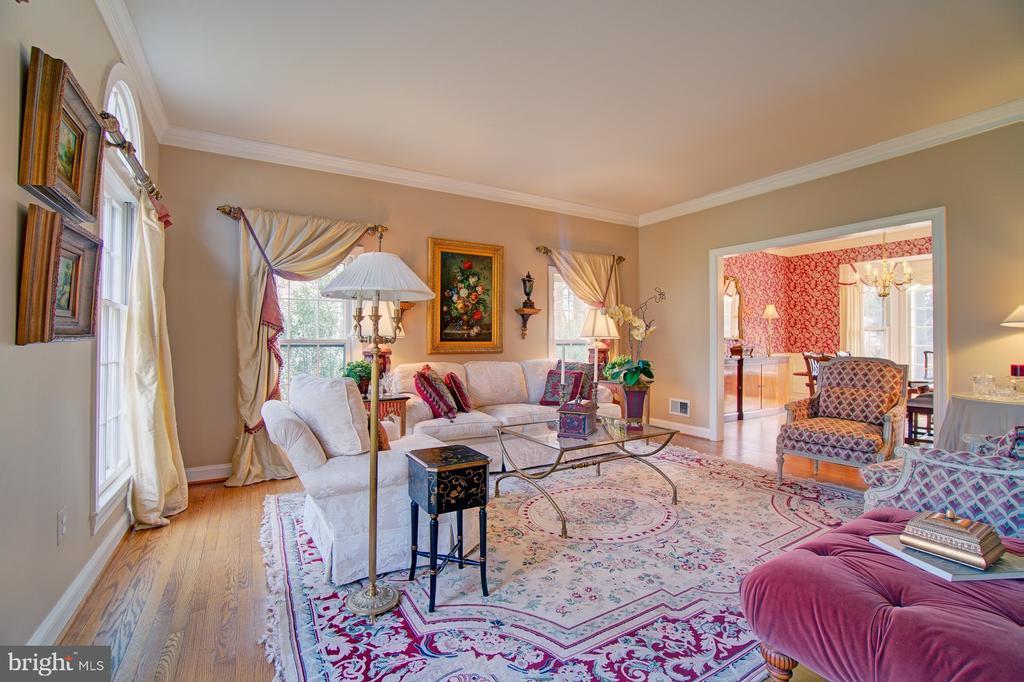 Living Room - 1132 ROUND PEBBLE LN, RESTON