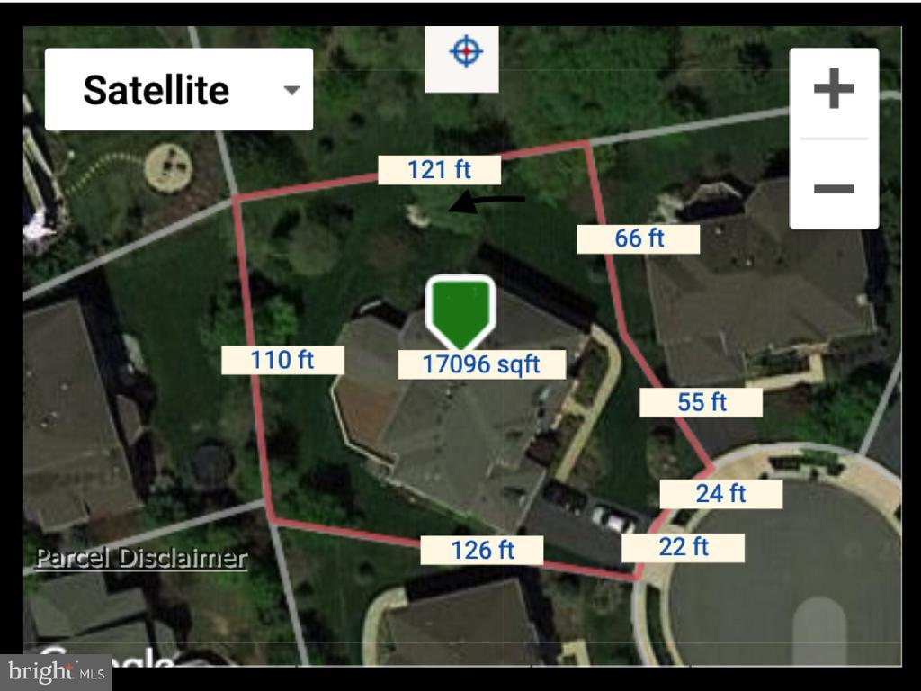 Loudoun County Weblogis Map of Lot Lines - 23077 OGLETHORPE CT, ASHBURN