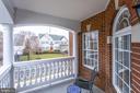 Outdoor sitting area off of master suite. - 42744 RIDGEWAY DR, BROADLANDS