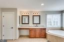 Newly updated Master Bath w/granite counters - 42744 RIDGEWAY DR, BROADLANDS