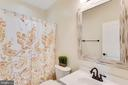 Full bath in Princess suite - 42744 RIDGEWAY DR, BROADLANDS
