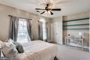 Large upstairs bedroom - 42744 RIDGEWAY DR, BROADLANDS