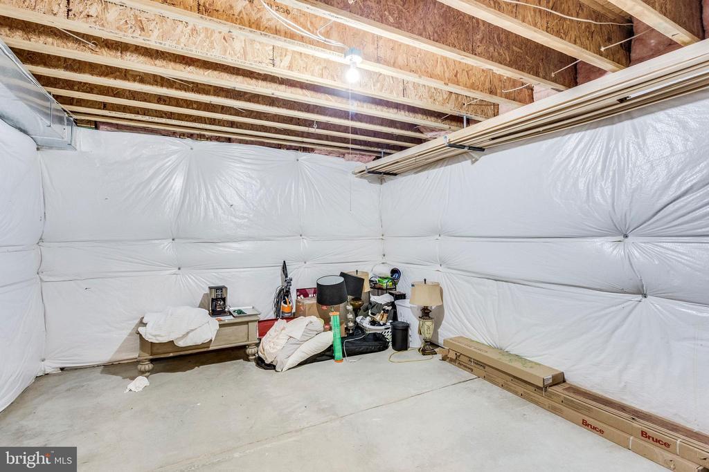 Storage room in Lower Level - 42744 RIDGEWAY DR, BROADLANDS