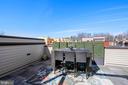 Rooftop Terrace w/ Speakers, Kitchen & Teke Tiles - 5402 MERRIAM ST, BETHESDA