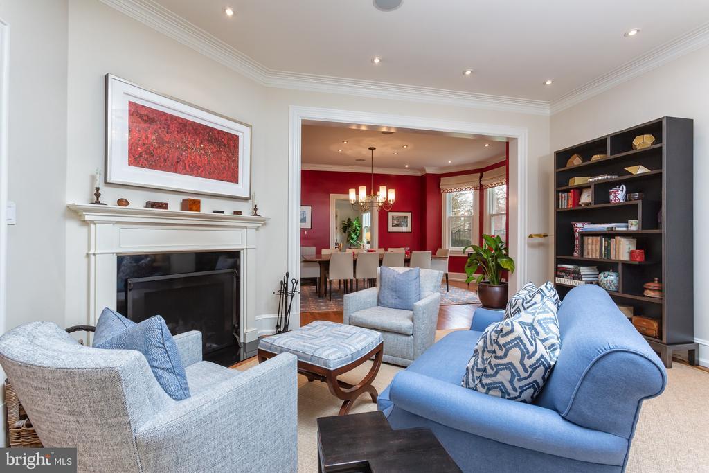 Living Room - 3601 NEWARK ST NW, WASHINGTON