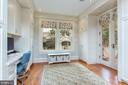 Mud Room/Family Office - 3601 NEWARK ST NW, WASHINGTON