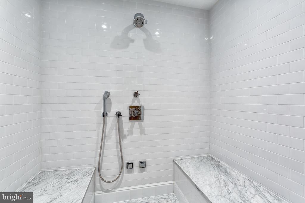 Lower Level Steam Shower - 3601 NEWARK ST NW, WASHINGTON