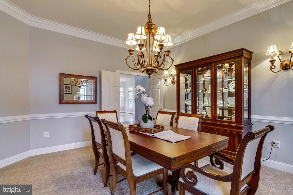 Dining Room - 12328 TIDESWELL MILL CT, WOODBRIDGE