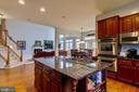 Kitchen - 12328 TIDESWELL MILL CT, WOODBRIDGE
