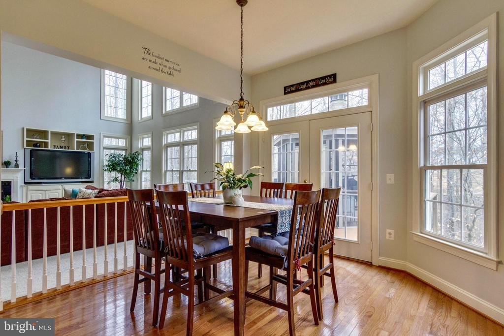 Breakfast Room - 12328 TIDESWELL MILL CT, WOODBRIDGE