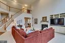 Family Room - 12328 TIDESWELL MILL CT, WOODBRIDGE