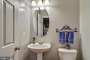 Powder Room - 12328 TIDESWELL MILL CT, WOODBRIDGE