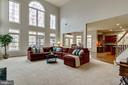 Family Room - 12328 TIDESWELL MILL CT, WOODBRIDGE