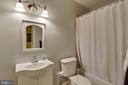 Basement 5th Full Bath - 12328 TIDESWELL MILL CT, WOODBRIDGE