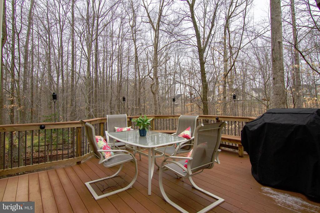 Deck Winter - 12328 TIDESWELL MILL CT, WOODBRIDGE