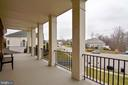 Front Balcony - 12328 TIDESWELL MILL CT, WOODBRIDGE