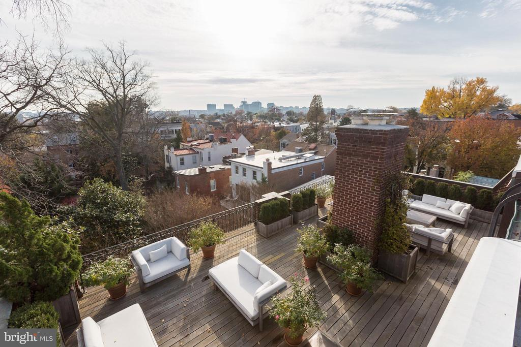Roof Deck and View - 2804-2806 Q ST NW, WASHINGTON