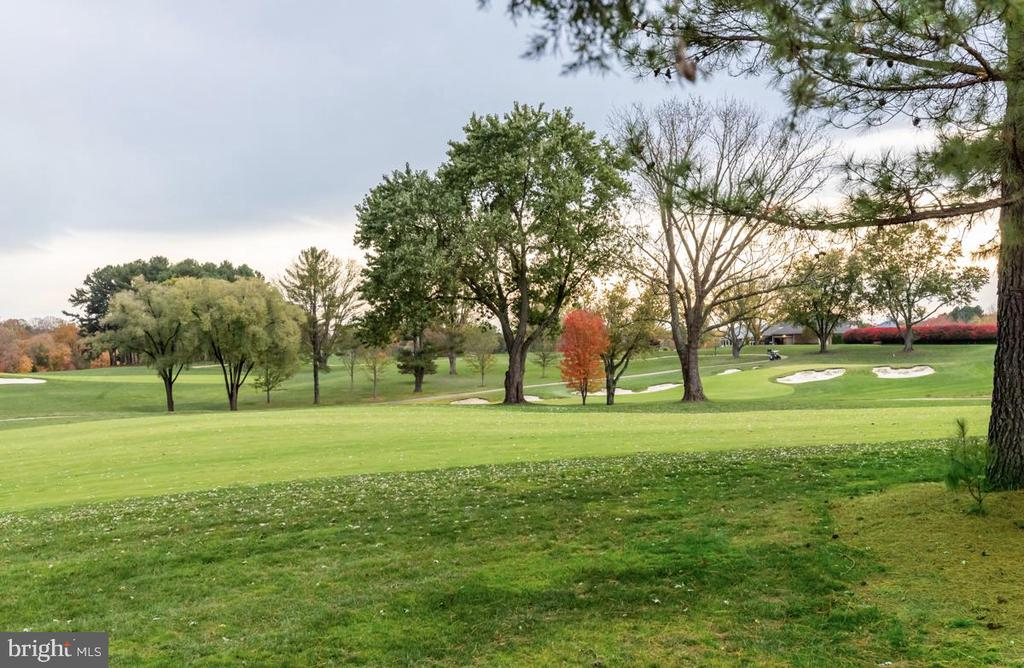 Golf Course View from home - 9801 BEACH MILL RD, GREAT FALLS
