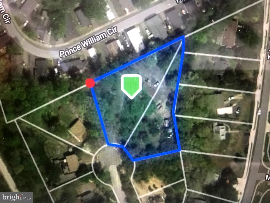 There are two lots #21 & #22. Total of .91 acre - 3630 TRIPOLI CT, DUMFRIES
