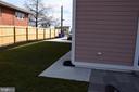 SIDE YARD - 2014 S LANGLEY ST, ARLINGTON