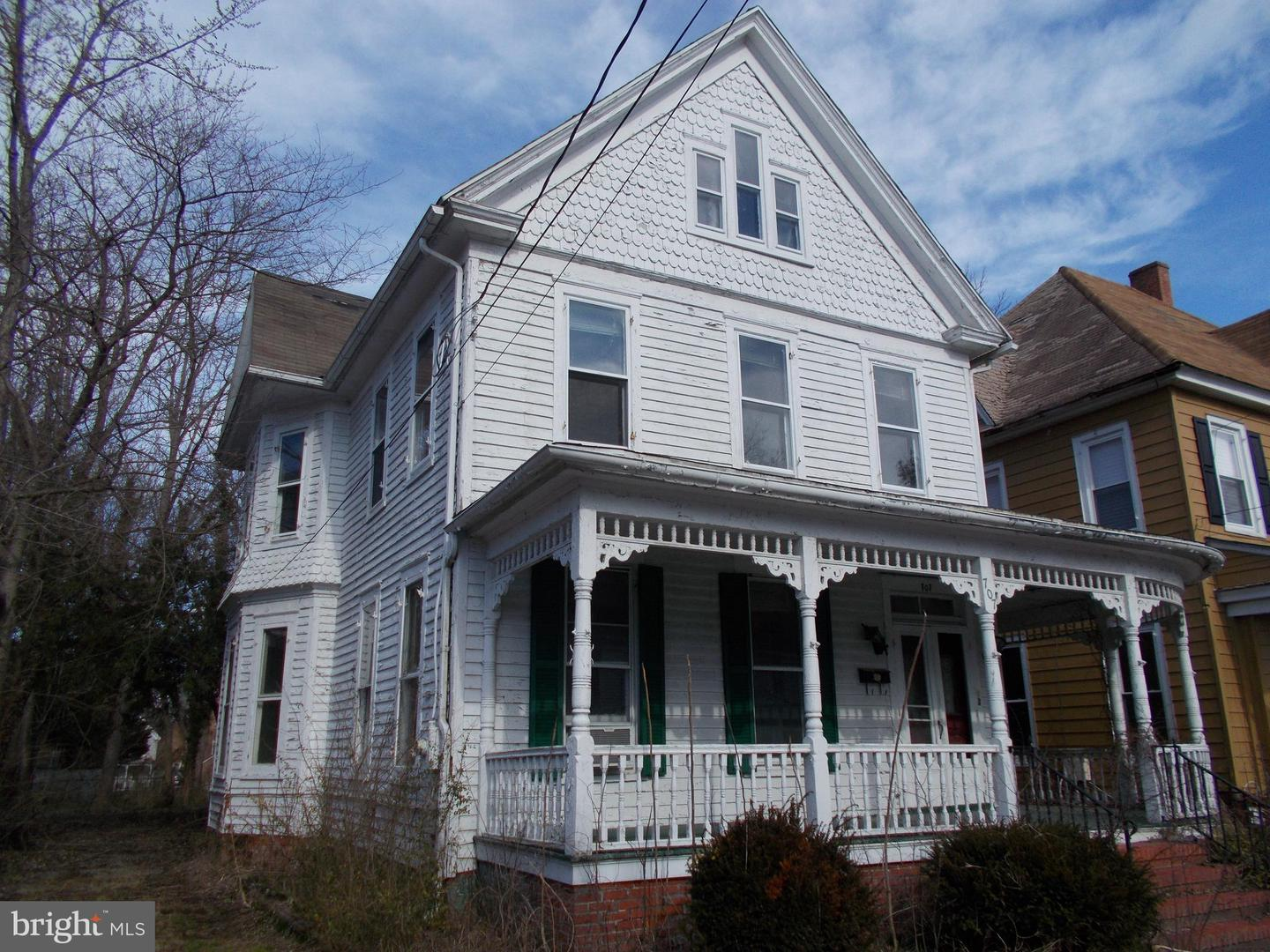 Single Family for Sale at 707 Church St Cambridge, Maryland 21613 United States