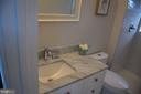 1ST LEVEL BATHROOM - 2014 S LANGLEY ST, ARLINGTON