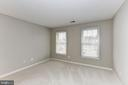 BEDROOM #2, SUITE WITH OWN BATH! - 13536 HEATHROW LN, CENTREVILLE