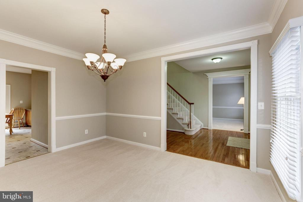 DINING ROOM - 13536 HEATHROW LN, CENTREVILLE
