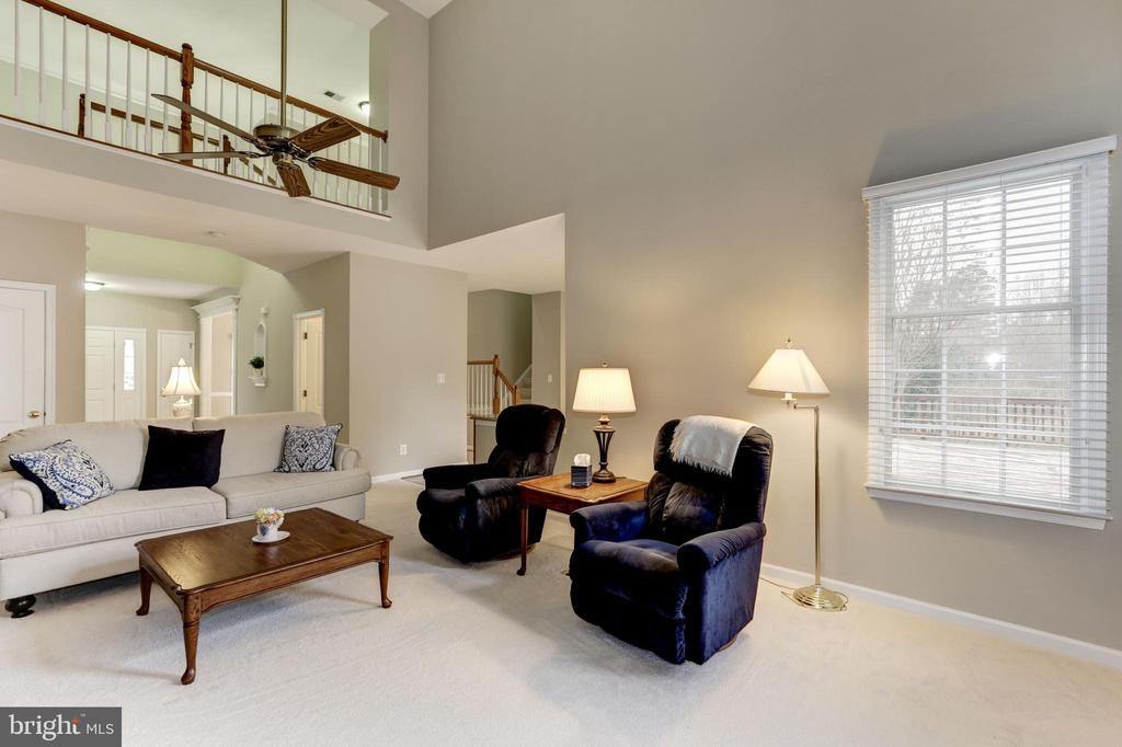 FAMILY ROOM AND UPPER GALLERY OVERLOOK - 13536 HEATHROW LN, CENTREVILLE