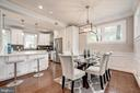 Sample photo of a prior dining area - 6722 WESTLAWN DR, FALLS CHURCH