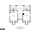 Third Floor Floorpan - 6008 KENNEDY DR, CHEVY CHASE