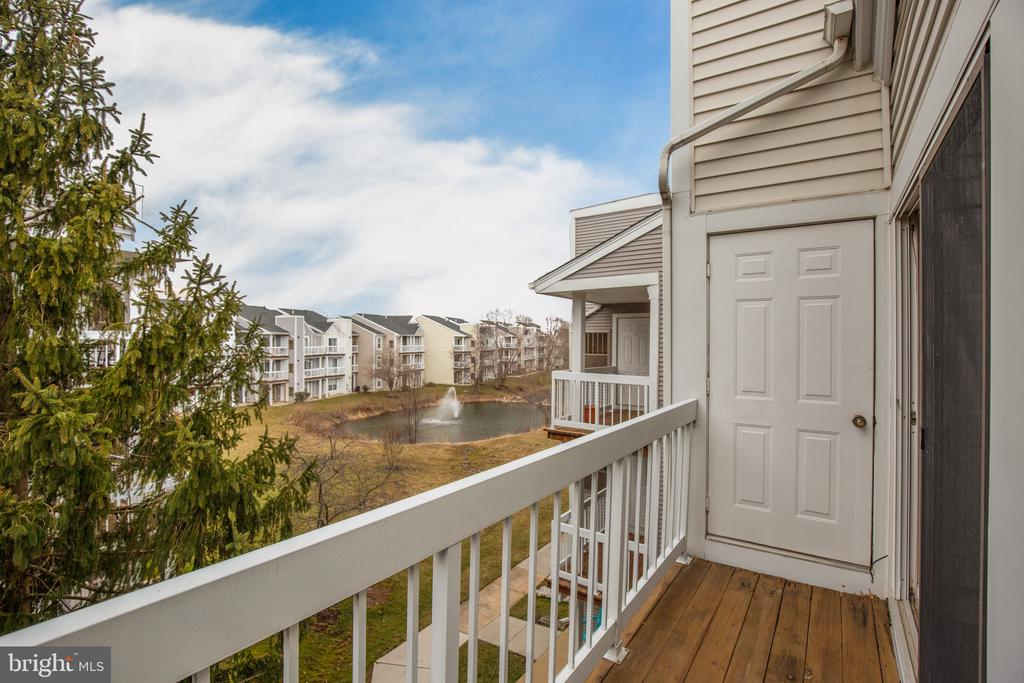 View from  Balcony - 20585 SNOWSHOE SQ #302, ASHBURN