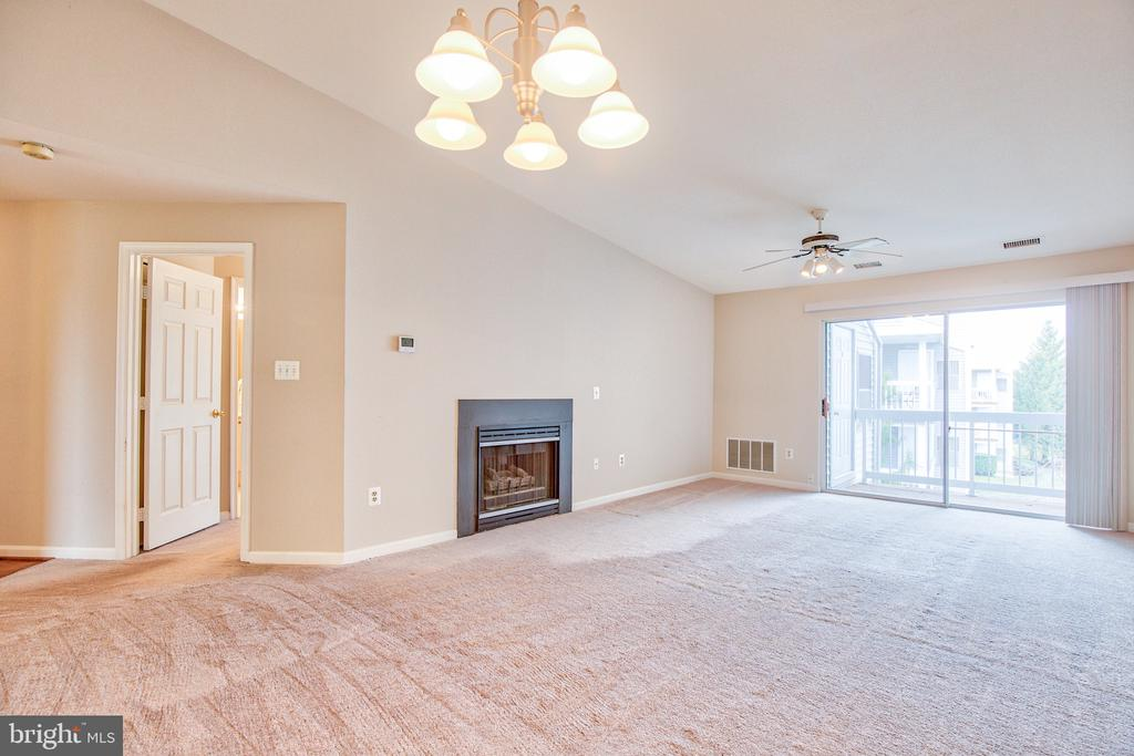 Cozy top floor unit with fireplace - 20585 SNOWSHOE SQ #302, ASHBURN