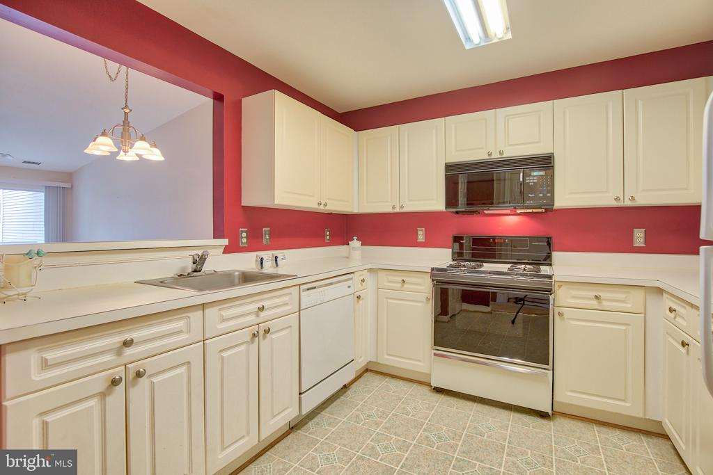Kitchen - 20585 SNOWSHOE SQ #302, ASHBURN