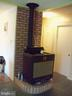 Wood burning stove - 6114 AUTH RD, SUITLAND