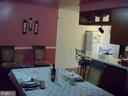 Dining room - 6114 AUTH RD, SUITLAND