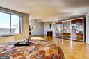 Vast MBR w/huge windows & sitting/office area - 10201 GROSVENOR #1701, NORTH BETHESDA